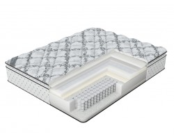 Матрас Verda Soft memory Pillow Top (Silver Lace/Anti Slip) 80x195