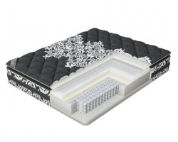 Матрас Verda Soft memory Pillow Top (Black Orchid/Anti Slip) 90x195