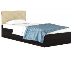 Кровать с матрасом Виктория-П (90х200)