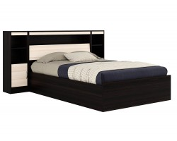 Кровать с пб, тумбами и матрасом ГОСТ Виктория (140х200)