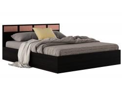 Двуспальная кровать с матрасом ГОСТ Виктория-(160х200)