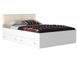 Кровать с ящиками и матрасом Promo B Cocos Виктория ЭКО-П (140х2