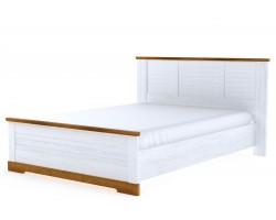 Кровать Кантри в цвете Орех Рибек натуральный
