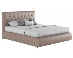 Кровать Мягкая с матрасом ГОСТ Амели (160х200)