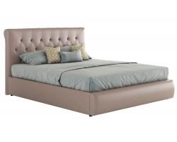 Кровать Мягкая с ПМ и матрасом ГОСТ Амели (140х200)