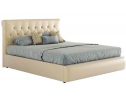 Кровать Мягкая с основанием и компоектом для сна Амели (180х200)