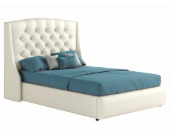 Кровать Мягкая с ПМ и матрасом Стефани (140х200)