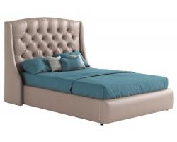 Кровать Мягкая с основанием и матрасом Стефани (140х200)