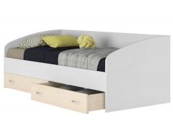 Односпальная кровать с матрасом ГОСТ Уника (90х200)