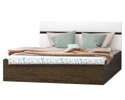Кровать Николь в цвете Белый глянец