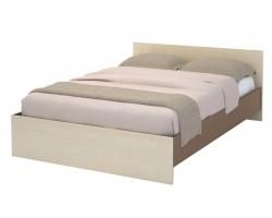 Кровать Бася в цвете Шимо темный