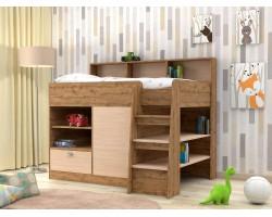 Кровать чердак Golden Kids 9 (80х160)