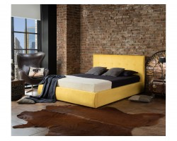 """Основание для кровати Мягкая """"Selesta&; 1800 желтая с ортопед."""