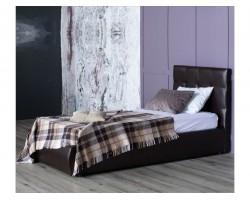 Кровать Мягкая Селеста 900 венге подъемным механизмом матрас