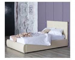 Кровать Мягкая Селеста 1200 беж подъемным механизмом матрасо
