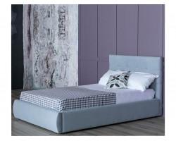 Кровать Мягкая Selesta 1200 серая подъемным механизмом