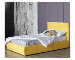 Основание для кровати Мягкая Selesta 1200 желтая с ортопедическим