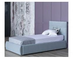 Кровать Мягкая Selesta 900 серая подъемным механизмом матрас