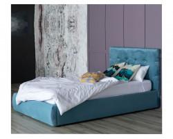 Основание для кровати Мягкая Selesta 1200 синяя ортопедическим