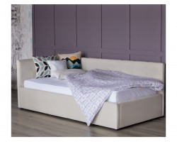 Кровать Односпальная тахта Bonna 900 беж ткань с подъемным механ