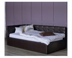 Кровать с подъемным механизмом Односпальная тахта Bonna 900 венге