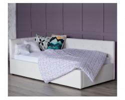 Детская кровать Односпальная тахта Bonna 900 белый с подъемным механизмо