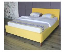Основание для кровати Мягкая Monika 1600 желтая c ортопедическим и