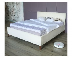 Основание для кровати Мягкая Monika 1600 беж c ортопедическим и мат