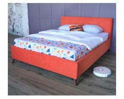 Основание для кровати Мягкая Monika 1600 оранж c ортопедическим и