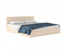 """Кровать Большая двуспальная """"Виктория&; 2 метра дуб с"""