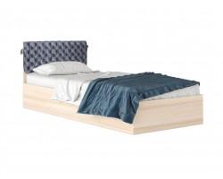 """Кровать Односпальная """"Виктория-П&; 900 дуб со съемной"""