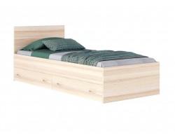 """Кровать односпальная """"Виктория&; 800 с ящиками дуб/"""
