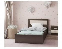 """Кровать """"Жаклин&; 900 с матрасом односпальная"""