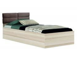 """Кровать Односпальная светлая """"Виктория-П&; 900 мягким"""