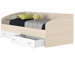 """Кровать Подростковая односпальная """"Уника&; 900 с матрас"""