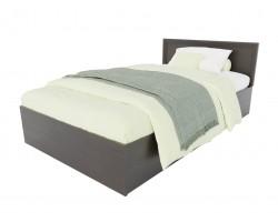 Кровать Адель 1200 с багетом и ортопедическим матрасом PROMO
