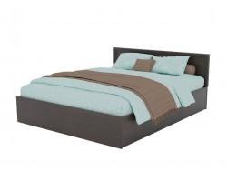 Кровать Адель 1600 с багетом и ортопедическим матрасом PROMO