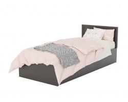 Кровать из массива Адель 900 с багетом ортопедическим матрасом АСТРА