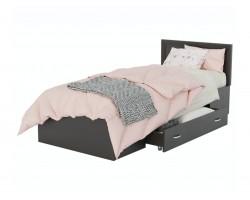 Детская кровать Адель 900 с багетом и ящиком