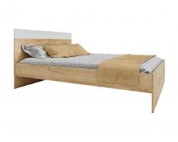 """Кровать """"Диана&; 1400 (дуб золотой) с ортопедическим"""