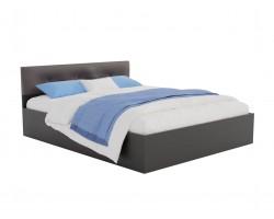 Кровать Виктория ЭКО-П 140 (Венге/) темная с матрасом PROMO