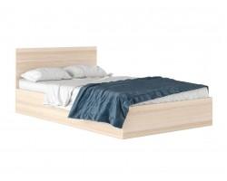 """Кровать Полутороспальная """"Виктория&; 1200 дуб"""