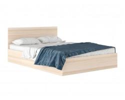 """Кровать с матрасом """"Виктория&; 1400 цвете дуб ГОСТ"""