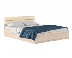 """Кровать Двуспальная """"Виктория-МБ&; 1600 с мягким"""