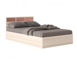"""Кровать """"Виктория-С&; 1400 дуб розы и матрас"""