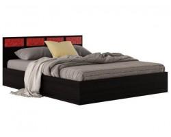 """Двуспальная кровать """"Виктория-С&; 1800 венге"""