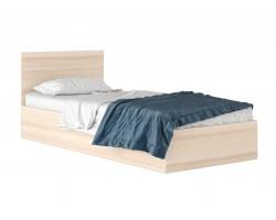"""Кровать Односпальная """"Виктория&; 800 мм. цвете дуб с"""