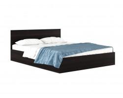"""Кровать Двуспальная """"Виктория&; 1600 венге с матрасом P"""