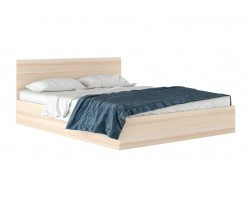 """Кровать с матрасом Двуспальная """"Виктория&; 1600 дуб Pro"""