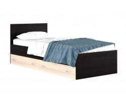 """Кровать Односпальная """"Виктория&; 900 с ящиком матрасо"""